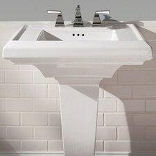 "Town Square 27"" Pedestal Bathroom Sink Top"