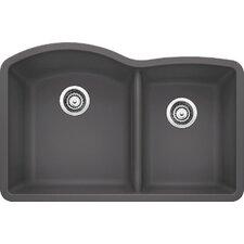 "Diamond 32"" x 20.84"" Bowl Undermount Kitchen Sink"