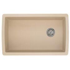 """Diamond 33.5"""" x 18.5"""" 1.0 Undermount Kitchen Sink"""