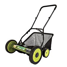 """18"""" Manual Reel Mower with Grass Catcher"""