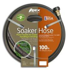 """Soaker Flexible 0.5"""" x 100' Garden Hose"""