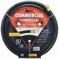 "Commercial Series Rubber 0.63"" x 50' Garden Hose"