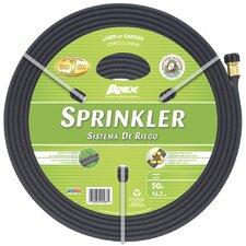 Rubber Sprinkler 50' Garden Hose