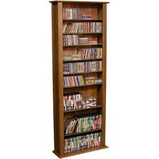 VHZ Entertainment Large Single Multimedia Storage Rack