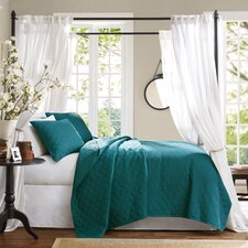 Bennett Place Velvet Touch 3 Piece Coverlet Set