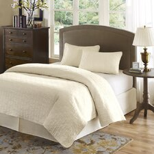 Highland Park Velvet Touch 3 Piece Coverlet Set