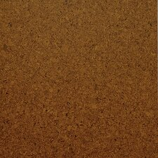 "Classic 12"" Engineered Cork Hardwood Flooring in Medium Shade Unfinished"