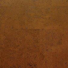 "Avant Garde 11-7/8"" Engineered Cork Oak Hardwood Flooring in Saddle Monte Carlo"