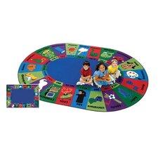 Circletime Dewey Decimal Fun Area Rug