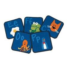 Literacy Fun with Phonics Kids Rug
