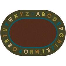 Circletime Brown / Green Alphabet Nature Area Rug
