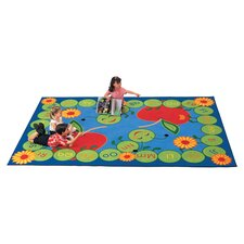 Literacy ABC Caterpillar Kids Rug