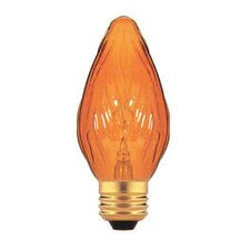 Amber 130-Volt Incandescent Light Bulb (Set of 13)