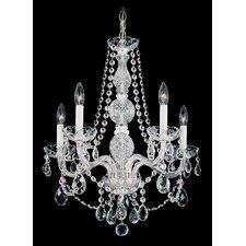 Arlington 5 Light Crystal Chandelier