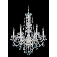 Arlington 6 Light Crystal Chandelier
