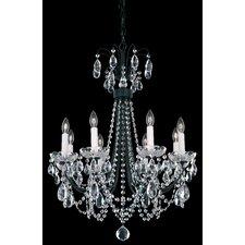 Lucia 8 Light Crystal Chandelier