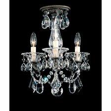 La Scala 3 Light Convertible Chandelier