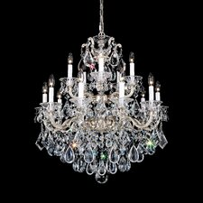 La Scala 15 Light Crystal Chandelier