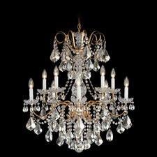 New Orleans 10 Light Chandelier in Silver