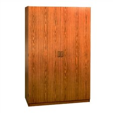 SystemBuild Collection 2-Door Wardrobe Cabinet - Oak