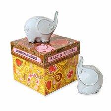 Elephants Salt & Pepper Mill Set