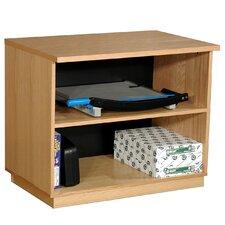 "Modular Real Oak Wood Veneer Furniture 29.5"" Standard Bookcase"