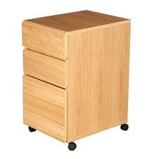 Heirloom 3-Drawer Mobile File Cabinet