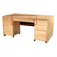 "Modular Real Oak Wood Veneer Furniture 30.81"" W x 18.13"" D Desk Drawer"