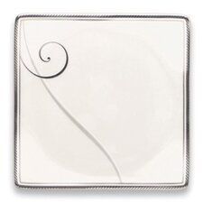"Platinum Wave 5.88"" Square Platter"