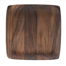 "Kona Wood 12"" Square Plate (Set of 4)"