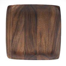 "Kona Wood 12"" Square Plate (Set of 4)"