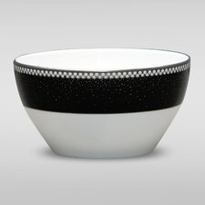 Pearl Noir Small Round Bowl