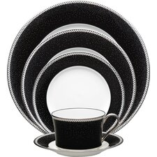 Pearl Noir 5 Piece Place Setting