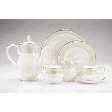 Montvale Platinum Dinnerware Collection