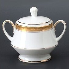 Crestwood Gold 10 oz. Sugar Bowl with Cover