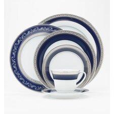Crestwood Cobalt Platinum Dinnerware Collection