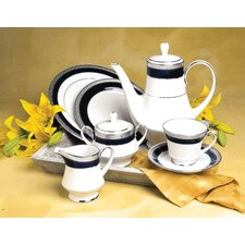 Crestwood Cobalt Platinum Dinnerware Collection