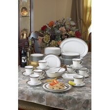 Crestwood Platinum Dinnerware Collection