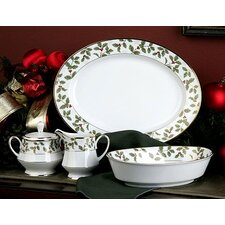 Holly and Berry Gold 5 Piece Completer Set