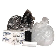 16 Gallon High Density Can Liner in Clear