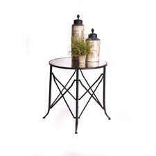 """Haven 30"""" Mirrored End Table"""