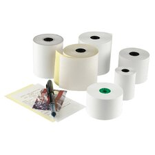 RegistRolls Two-Part Carbonless POS Roll in White