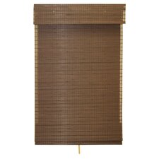 Eco-Friendly Cordless Woven Bamboo Roman Shade