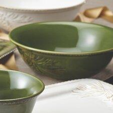 Sierra Pine Stoneware Round Serving Bowl