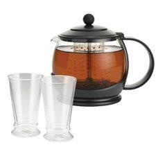 Prosperity 1.27-qt Glass Tea Kettle