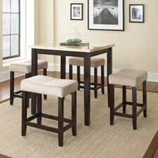 Aberdeen 5 Piece Counter Height Dining Set