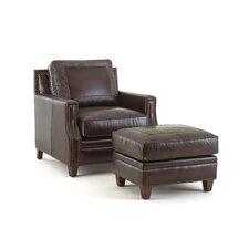Caldwell Arm Chair and Ottoman Set