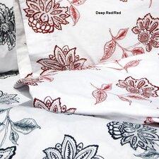 Flower Printed Extra Deep Pocket Flannel Sheet Set