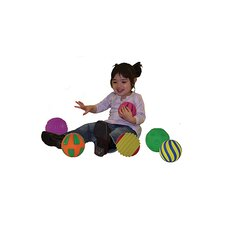 Tactile Squeak Balls (Set of 6)