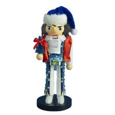"11"" Elvis Presley Blue Jumpsuit Nutcracker"